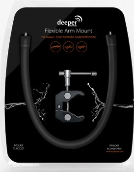 Deeper smart portable fishfinder and deeper flacc01 for Deeper fish finder review