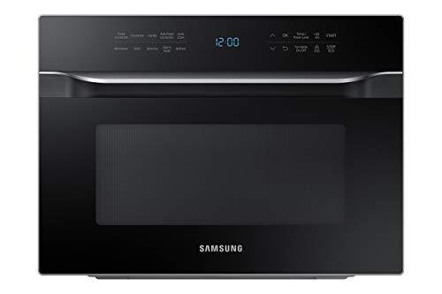 Samsung MC12J8035CT 1.2 cu. ft. Countertop Convection Microwave - Stainless Steel, Black (Renewed)