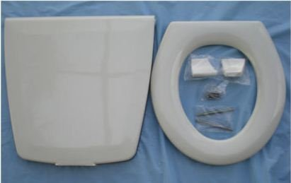 Thetford 35778 Toilet Seat and Cover Assembly by Thetford