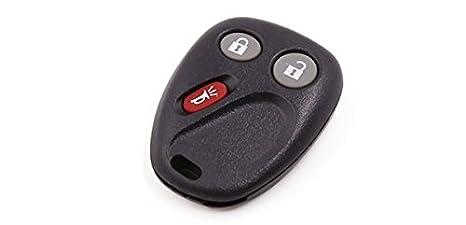 Llavero con mando a distancia para coche sin llave de 3 botones para Chevy FCC ID LHJ011: Amazon.es: Coche y moto