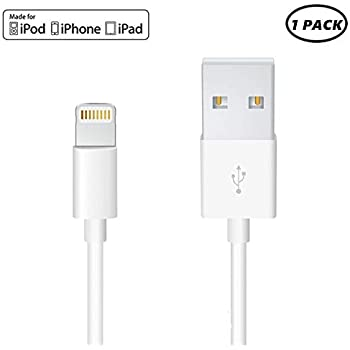 Amazon.com: Apple Lightning Cable for iPhone X/ 8 Plus/ 7 ...