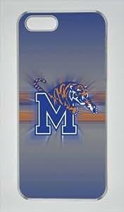 Customizablestyle NCAA Memphis Tigers iPhone 6 plus Case Hard Shell(PC Transparent)