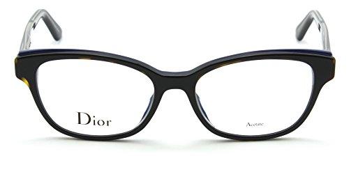 Dior Montaigne 3 Women Cat-Eye Prescription RX Eyeglasses G9Z, 54 - Frames Cat Eye Dior