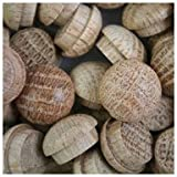 WIDGETCO 1/2'' Oak Button Top Wood Plugs