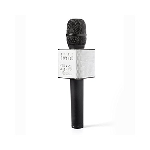 100% Original Micgeek Q9 bluetooth wireless Karaoke microphone, DHL fast delivery Sold by Micgeek manufacturer authorized (Black)