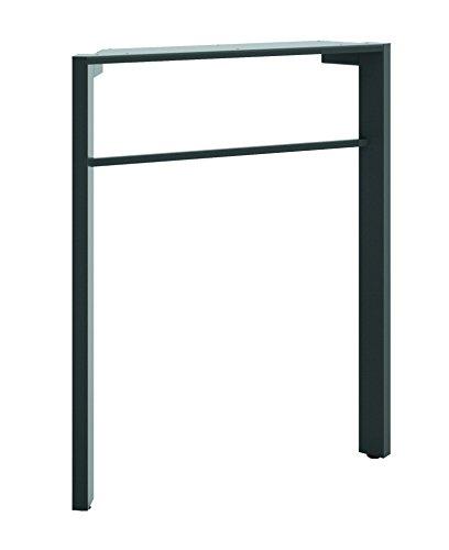 basyx by HON Manage Desk Leg, 28 1/2-Inch, Ash