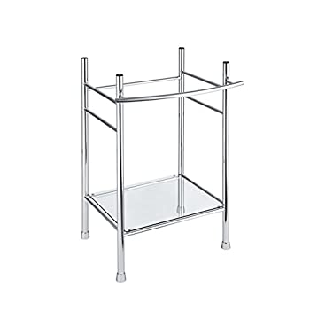 Image of American Standard 8719000.002 Edgemere Console Table Legs, Chrome Home Improvements