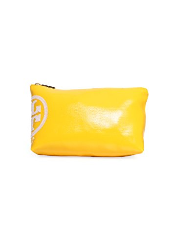 Tory Burch Beach Dipped Small Slouchy Cosmetic Case in Sunshine