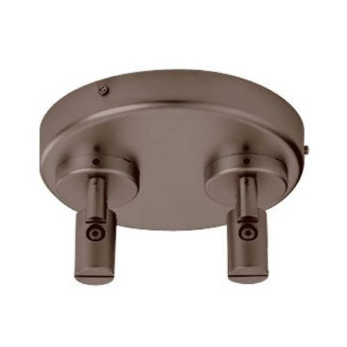 (WAC Lighting LMDCPCDB Low Voltage Ceiling Dual Remote Power Feed for Monorail Track)