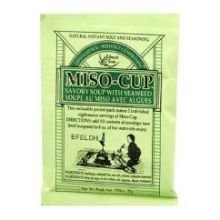 Edward And Sons Miso Cup Soup with Seaweed, 0.75 Ounce -- 24 per case.