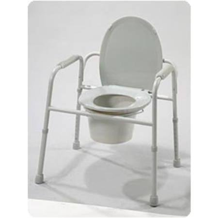 Deluxe All In One Commode - 7