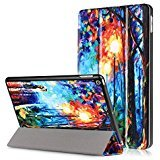 Folio Case for New iPad 2017 9.7 Inch - SAVYOU Ultra Slim Lightweight Smart Cover with Stand Case for Apple All-New iPad 9.7 Inch 2017 Tablet