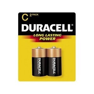 Duracell Copper Top Alkaline Battery Size C Bulk - Case of 72 - Model mn1400 by Duracell