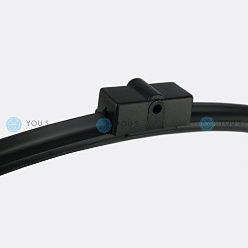 2 you.s ORIGINAL 3397118938 FRENTE Wiper Blade 600 + 600mm: Amazon.es: Coche y moto