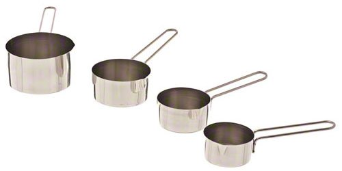 Browne (1191MC) Set of 4 Stainless Steel Measuring Cups