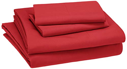 red and white sheets - 8