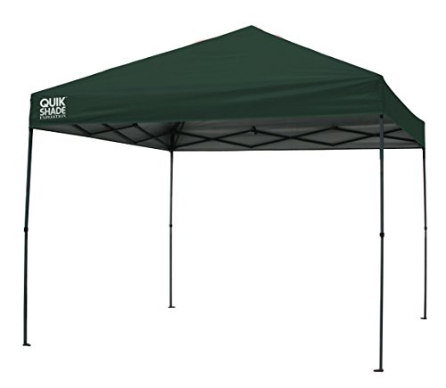 - Quik Shade Expedition EX100 10'x10' Instant Canopy - Oregon Green