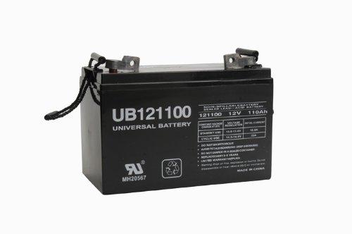 12V 110AH FL1 SLA Battery for Go Power 1500W Pure Sine Wave Inverter