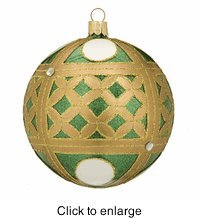 Waterford Holiday Heirlooms Colleen Christmas Ball Ornament