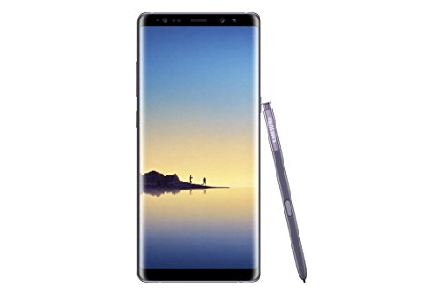 Samsung Galaxy Note 8 SM-N950F/DS Dual SIM Factory Unlocked GSM Phone - 64GB - International Version - No Warranty (Orchid Gray)