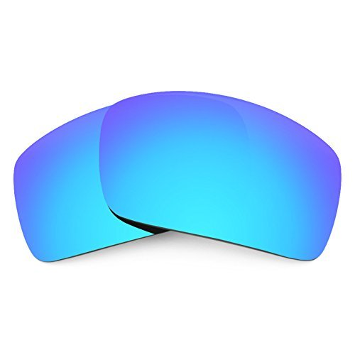 (Revant Replacement Lenses for Oakley Oil Drum Polarized Ice Blue MirrorShield by Revant)