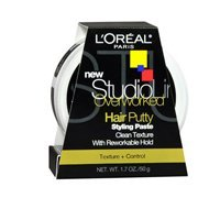 L'oreal Paris Studio Line Texture and Control Overworked Hair Putty 1.7 oz (3 ()