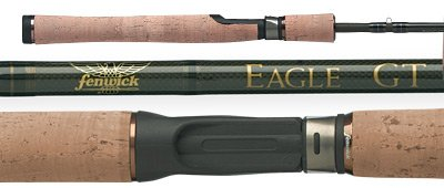 Fenwick Eagle GT 10 4-Piece Spinning Rod (7-Feet,Medium Light), Outdoor Stuffs