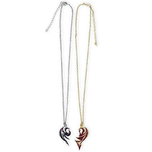 - Neon Tuesday Descendants Kids Mal Black & Purple Dragon Necklace Set