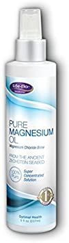 Life-flo Pure Magnesium Oil 8 oz Spray – 4 Pack