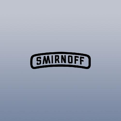 Apple Smirnoff (Black Wall Decor Notebook Vintage Macbook Auto Car Laptop Home Decor Car Decal Vinyl Helmet Decoration Smirnoff Die Cut)