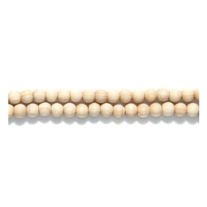 Shipwreck Beads Preciosa Czech Traditional Opaque Wood Round Beads, 4mm, Natural Raw, 600-Pack 31PmXnKbHgL