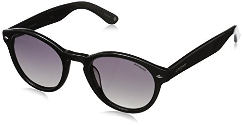 Polaroid Sunglasses Women's PLD1019SP Polarized Round Sunglasses, Black/Gray - Polaroid Sunglasses Round