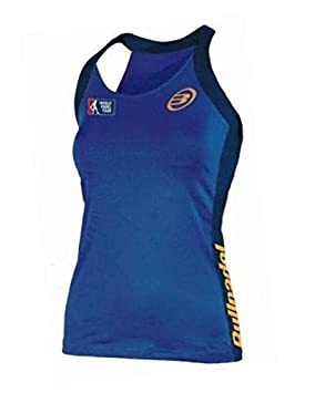 Bullpadel Camiseta BAMAPANA 031 Azul Mujer: Amazon.es ...