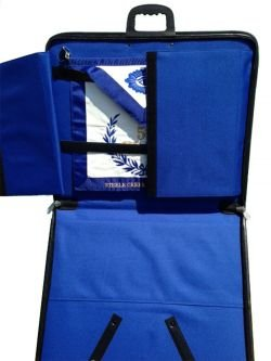 D6704 Masonic Apron Case - Blue Lining by Dean & Associates