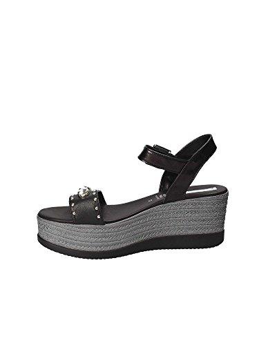 Zeppa Grace Shoes Donna Sandalo 92265 Nero RTUgqTr