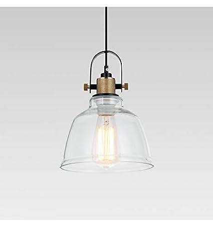 Lámpara de techo industrial vidrio transparente - Kalinka ...