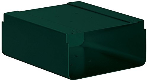 Green Newspaper Holder (Salsbury Industries 4315GRN Newspaper Holder for Roadside Mailbox and Mail Chest, Green)