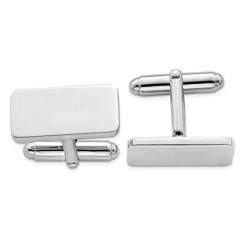 - 925 Sterling Silver Cuff Links Mens Cufflinks Man Link Fine Jewelry Gift For Dad Mens For Him