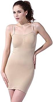 Franato Women's Seamless Body Shaper Slimming Tube Dress Shapewear S