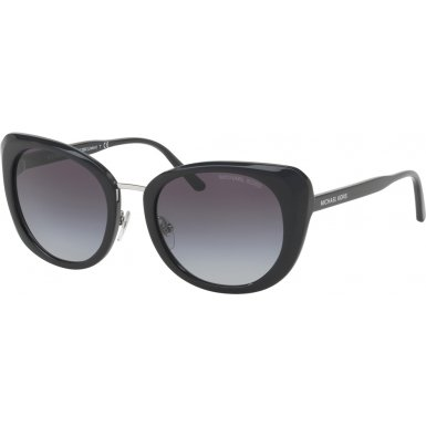 Michael Kors Womens Lisbon 0MK2062 52mm Black/Grey Gradient One - Sunnies Kors Michael
