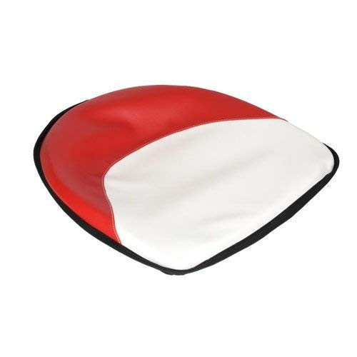 Pan Seat 19 Deluxe Cushion Vinyl Red /& White Ford 2310 4130 7600 5600 2000 3600 2120 2110 4140 4000 5000 2610 6600 4110 3000 8N 4600 2600 4100 International M 350 Massey Ferguson 65 35 30 135 50 20