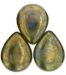 Pear Peridot Drop - 7