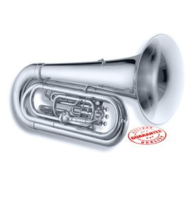Jupiter Qualifier 3/4 Size BBb Convertible Marching Tuba, JTU1000MS