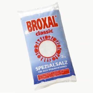 Sal para lavavajillas broxal fina Classic, 6 bolsa y discos de 2 ...