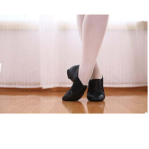 Latine Danse De Practice Cloth Cuir Adulte Professionnel Yjiaju Chaussures Stretch Femmes Pour Hommes Jazz 2 ESqz5x