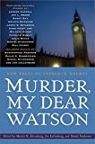 img - for Murder, My Dear Watson - New Tales Of Sherlock Holmes - Book Club Edition book / textbook / text book