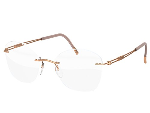 Silhouette eyeglasses TNG 2018 Titan Next Generation (rose all - Eyeglasses Silhouette Rimless