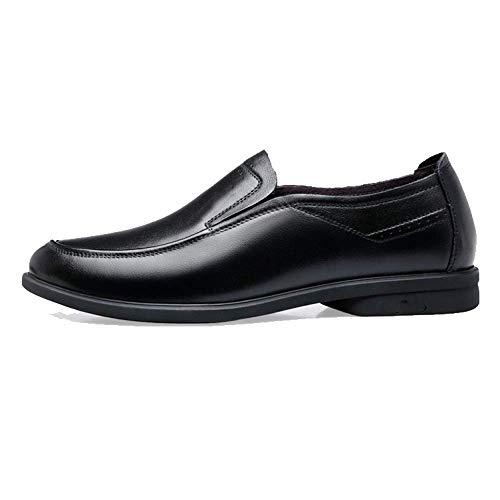 Low Comfort Top Black Round Scarpe Casual Pigri Moda Scarpe Resistente Business Traspirante all'Usura Testa YB5AqFw