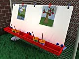 Manta Ray S3102 46''W x 22-1/2''H Double Fence Easel