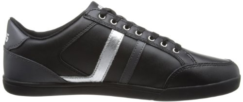 Tommy Hilfiger Rickey 1A - zapatillas bajas de cuero hombre negro - negro